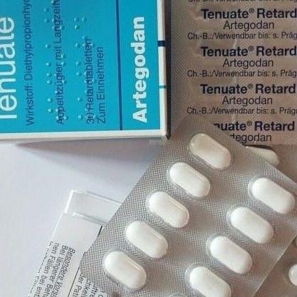Buy Tenuate Retard 75 mg